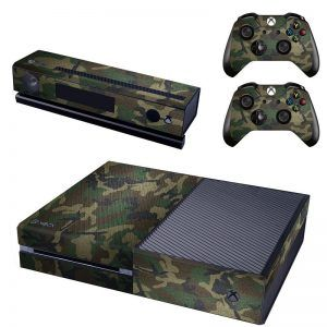 Camo Army Forest Xbox ONE sticker