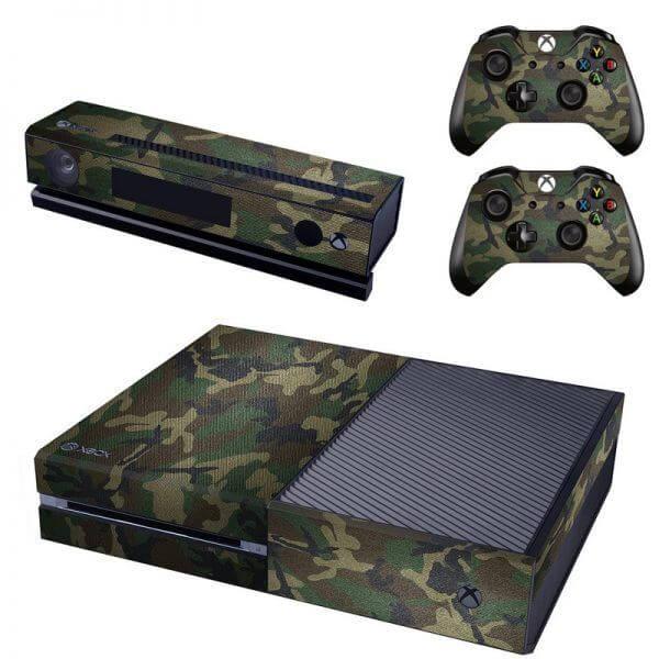 Camo Army Forest Xbox ONE sticker