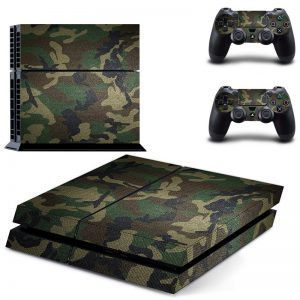 Camo Army Forest ps4 sticker