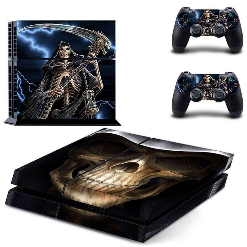 Grim Reaper ps4 sticker