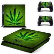 Marijuana V2 ps4 sticker