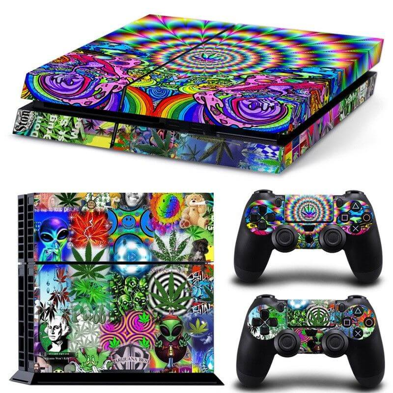 Marijuana ps4 sticker
