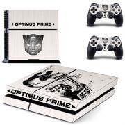 Optimus Prime ps4 sticker