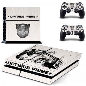 Optimus Prime ps4 sticker