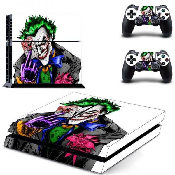 The Joker Comic ps4 sticker