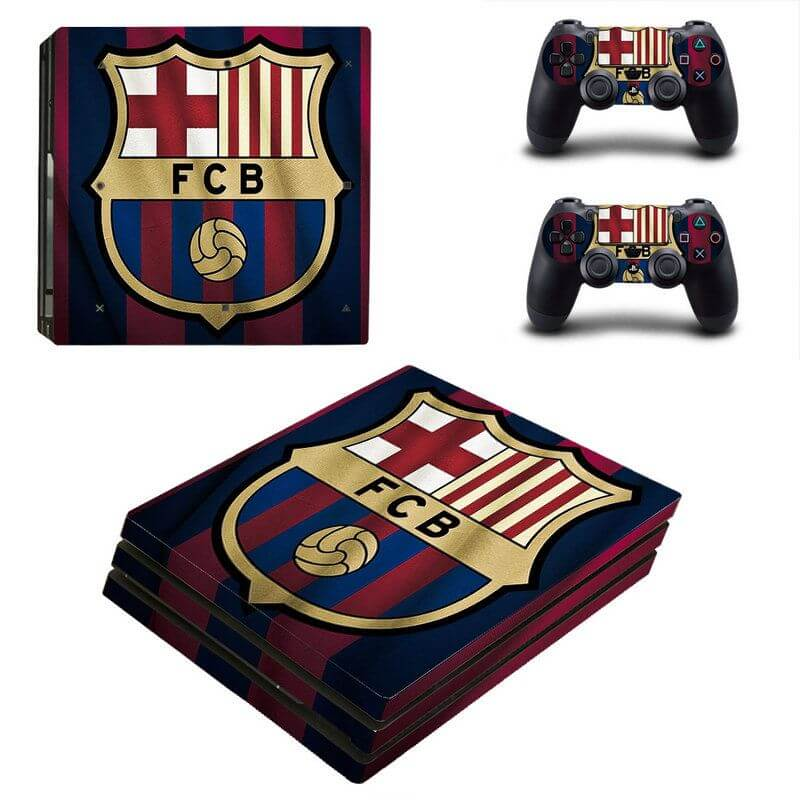 Barcelona PS4 Pro sticker