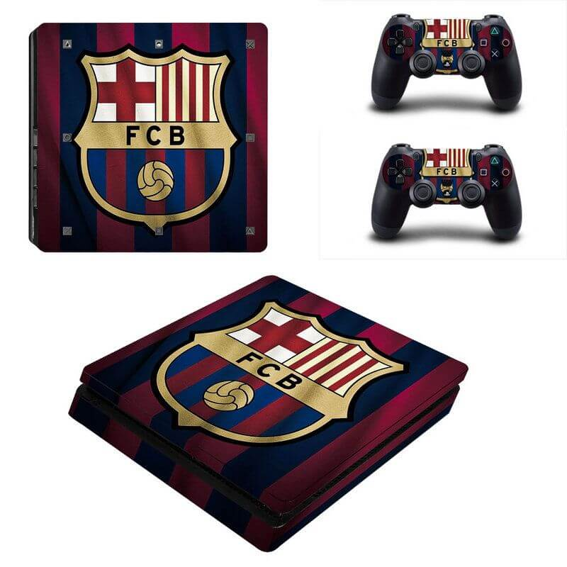 Barcelona V2 ps4 slim sticker