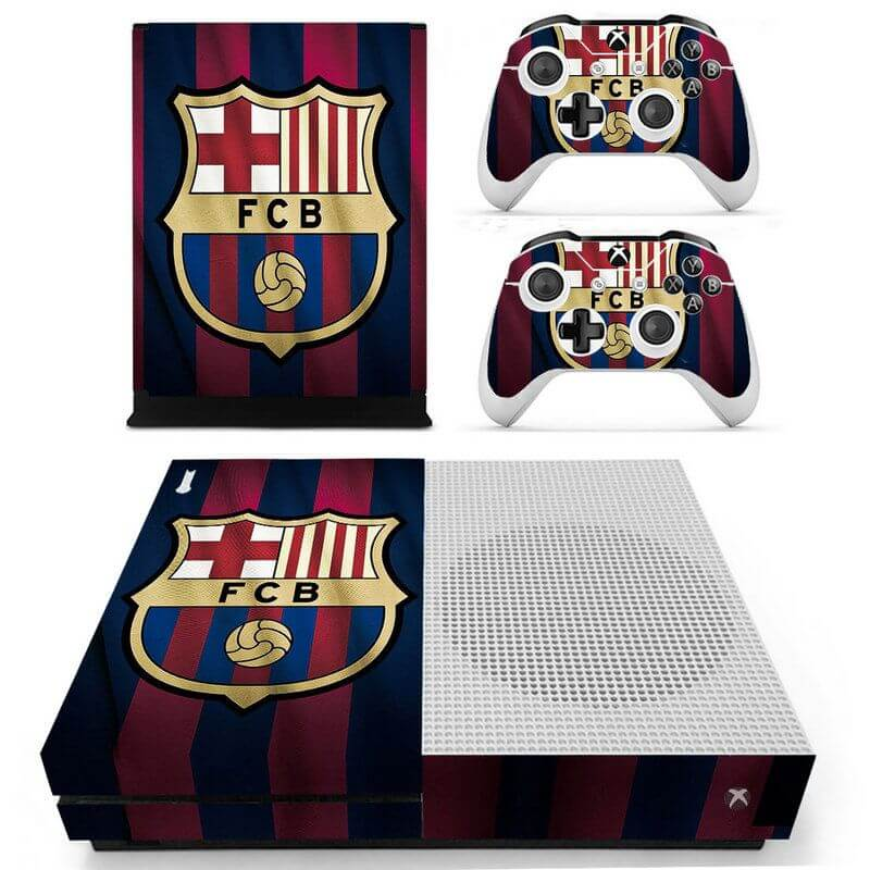 Barcelona Xbox ONE S sticker