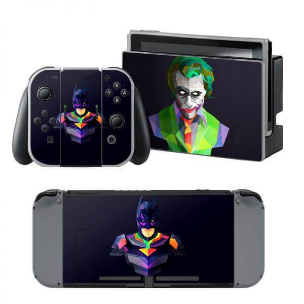 Batman Joker Nintendo Switch Skin