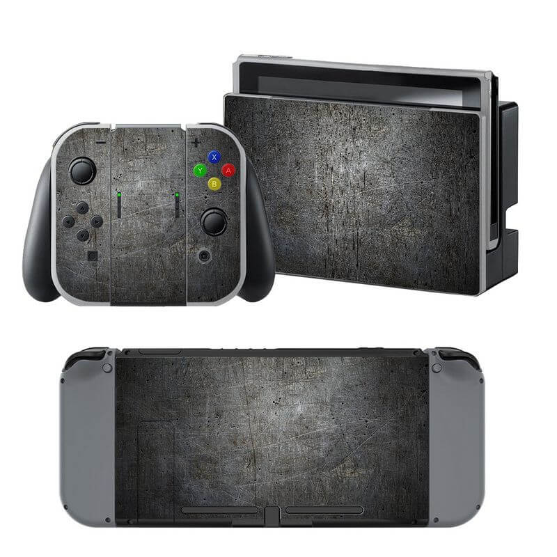 Black Rock Nintendo Switch Skin