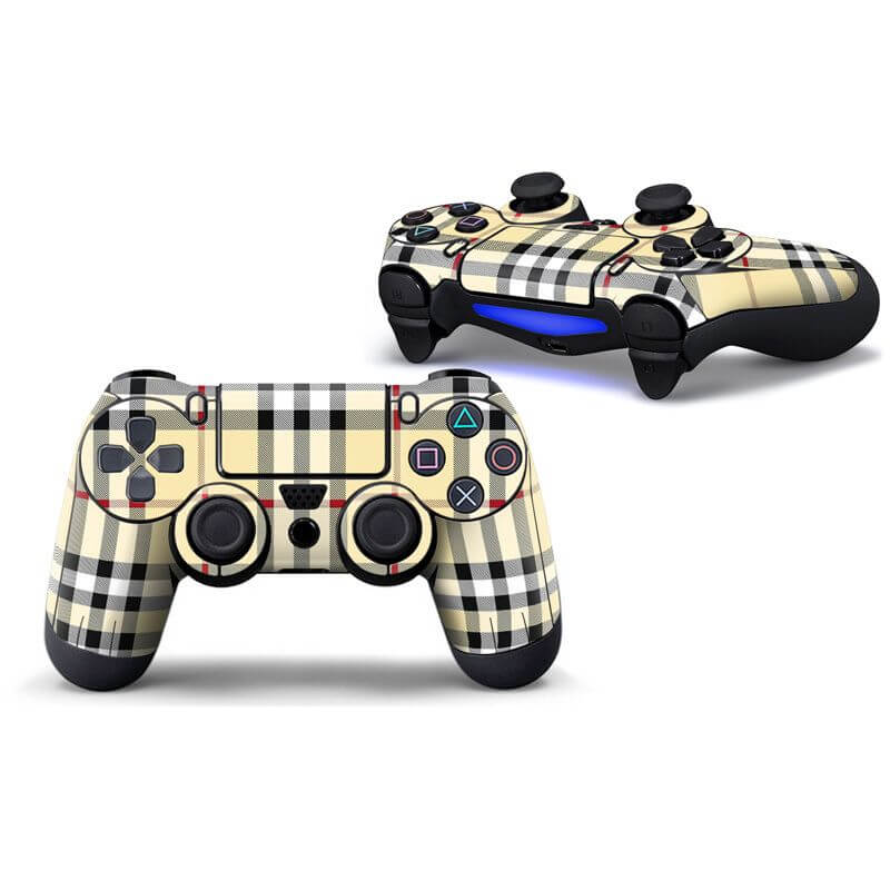 Burberry PS4 Controller Skin