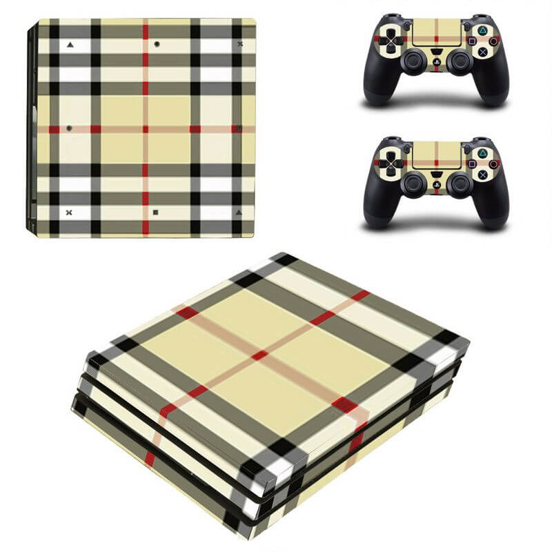 Burberry PS4 Pro sticker