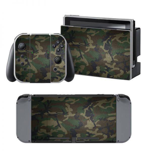 Camo Army Nintendo Switch Skin