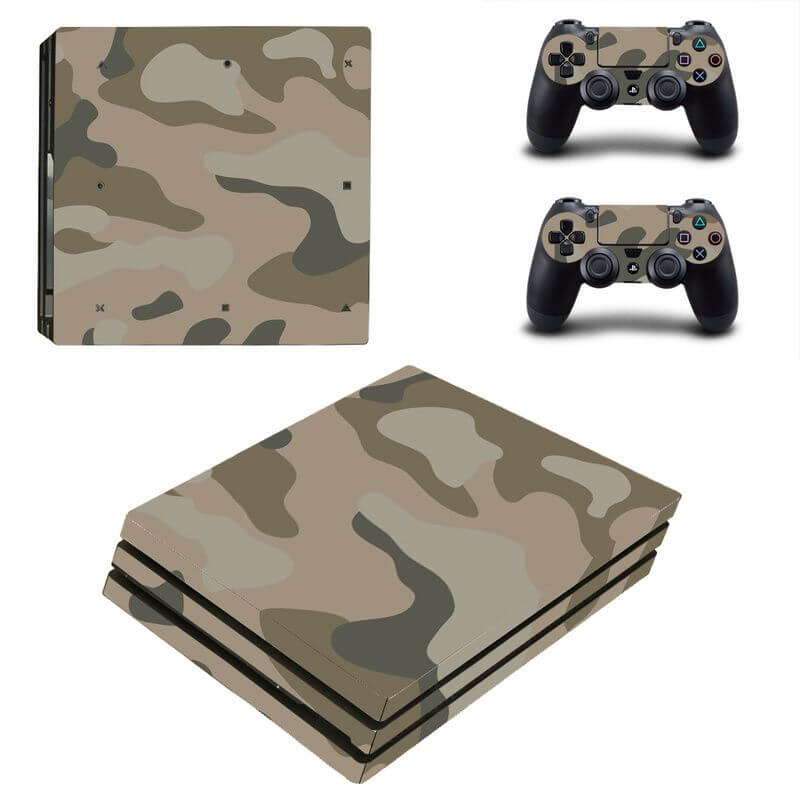 Camo PS4 Pro sticker