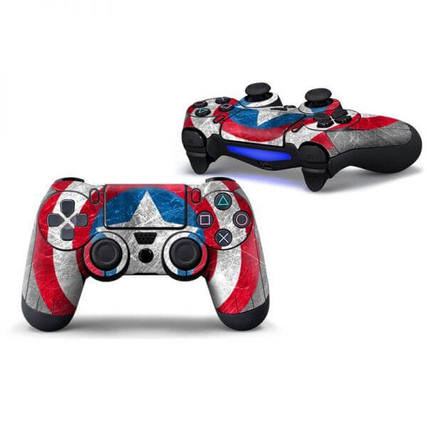 Captain America PS4 Controller Skin