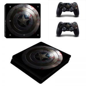 Captain America PS4 Slim sticker