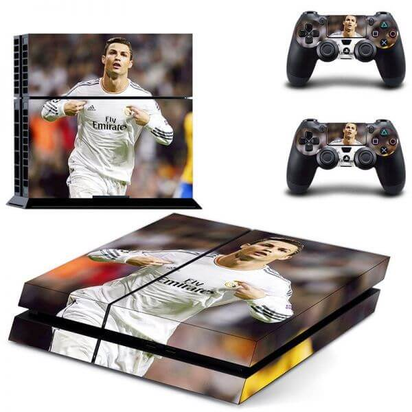 Cristiano Ronaldo PS4 Sticker