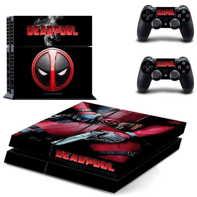 Deadpool ps4 sticker