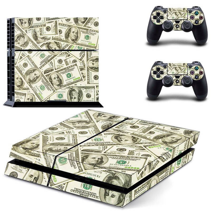 Dollars PS4 Sticker