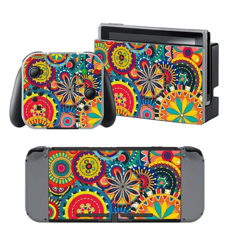 Flower Power Nintendo Switch Skin