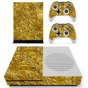 Gold Bar Xbox ONE S sticker