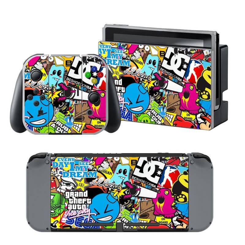 Hoonigan Nintendo Switch Skin