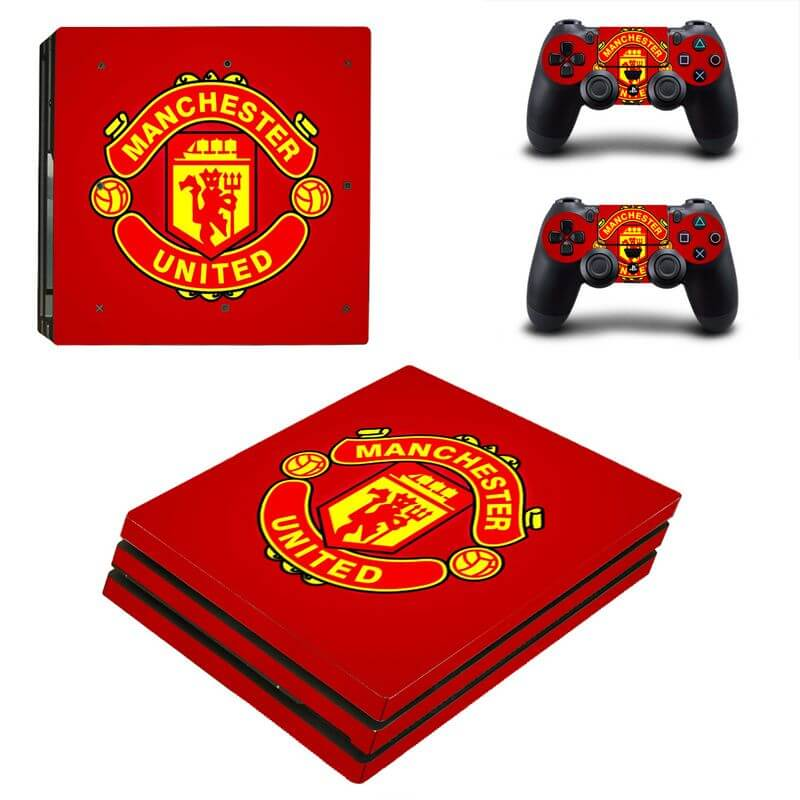 Manchester United ps4 Pro sticker