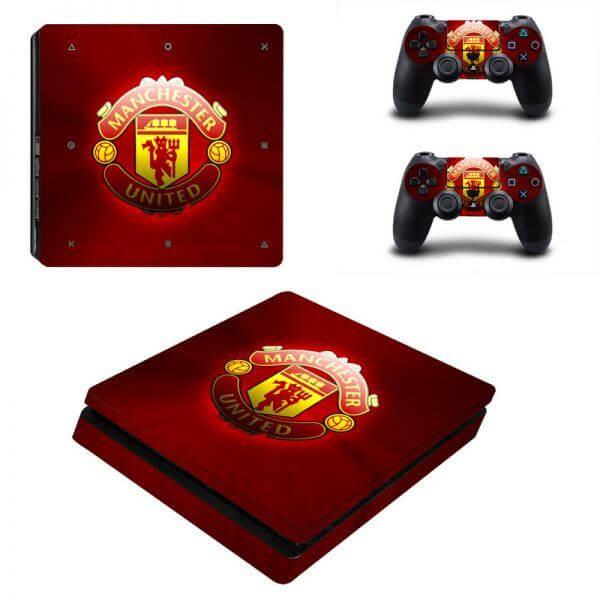 Manchester United ps4 slim sticker