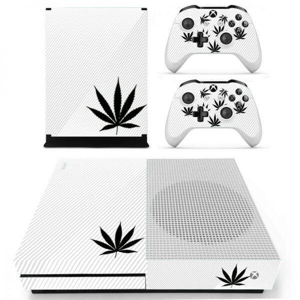 Marijuana Xbox ONE S sticker