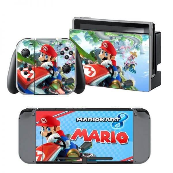 Mario Kart 8 Nintendo Switch Skin