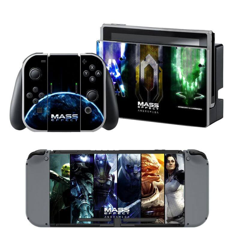 Mass Effect Nintendo Switch Skin