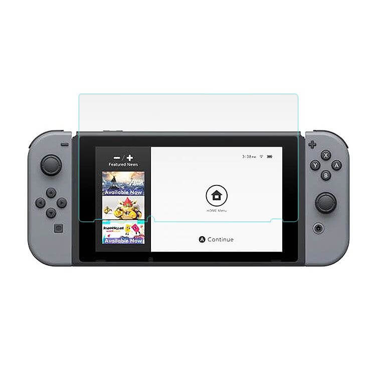 Nintendo Switch Glazen Screenprotector 2