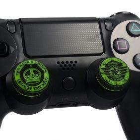 PS4 Thumb Grips Best groen