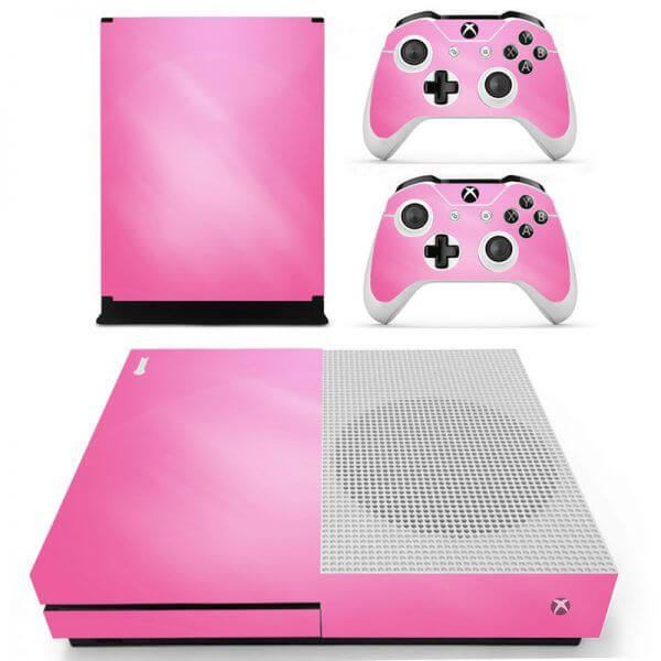 Pink Xbox ONE S sticker
