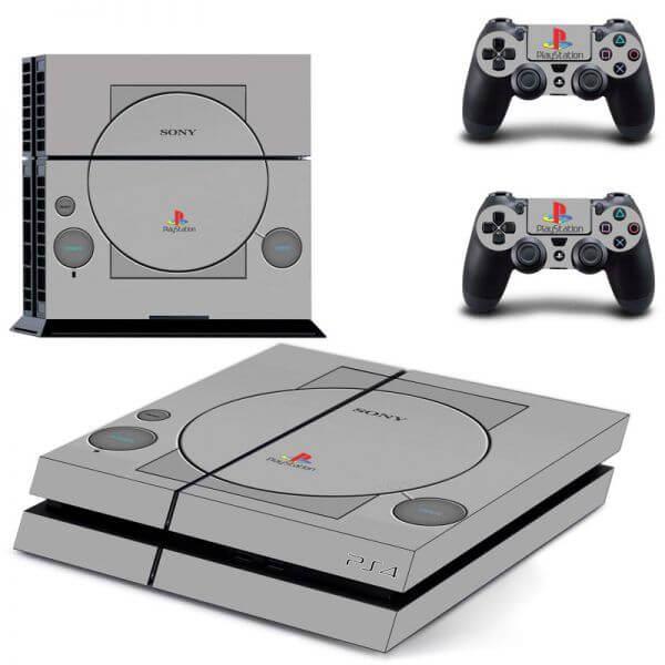 PlayStation 1 PS4 Skin