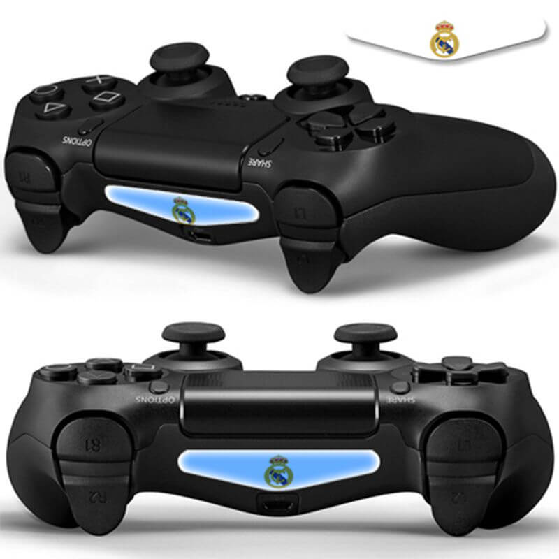 Real Madrid V2 PS4 Lightbar Sticker