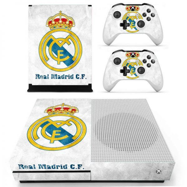 Real Madrid Xbox ONE S sticker