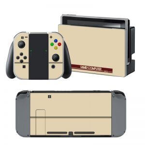 Retro Family Computer Nintendo Switch Skin