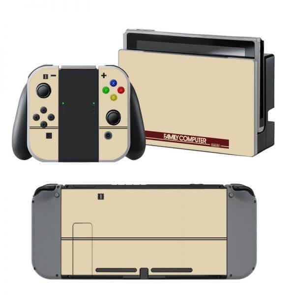 Retro Family Computer Nintendo Switch Skin