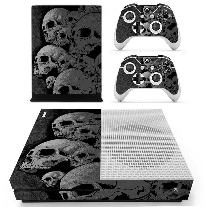 Skulls Xbox ONE S sticker