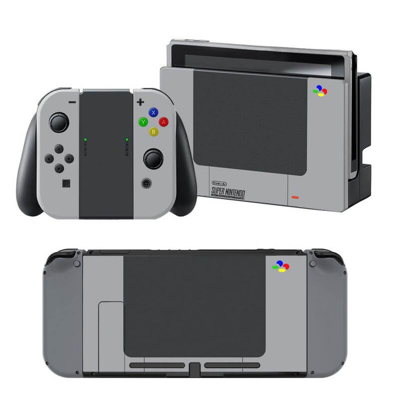Super Nintendo Switch Skin