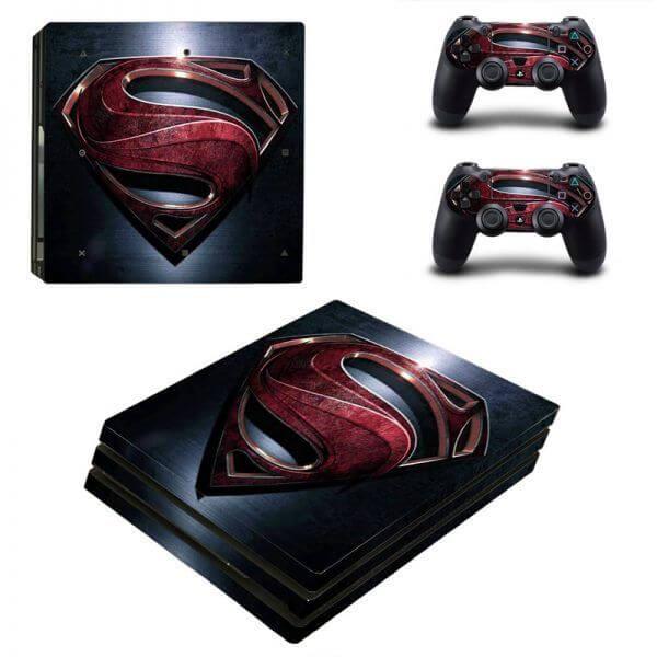 Superman PS4 Pro sticker