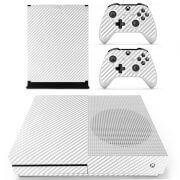 White Carbon Xbox ONE S sticker