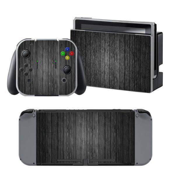 Wood Nintendo Switch Skin