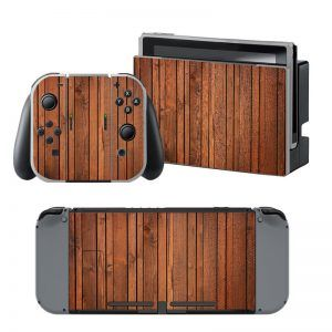 Wood V2 Nintendo Switch Skin