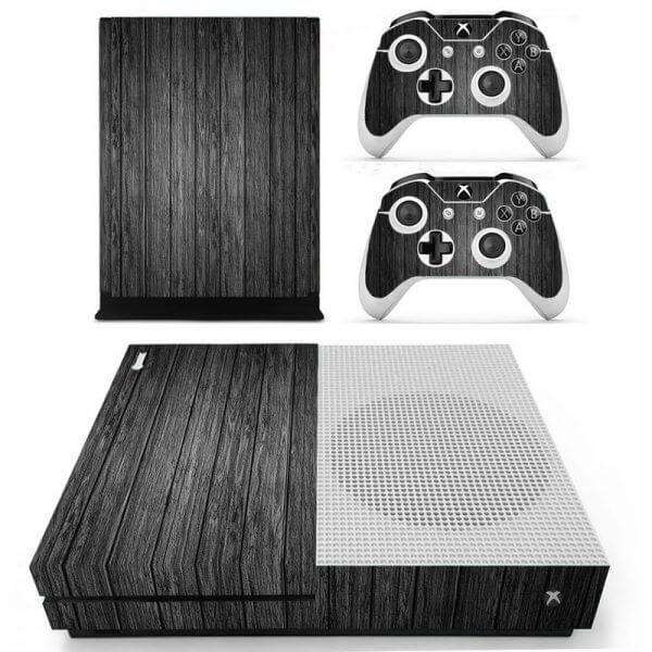 Wood V2 Xbox ONE S sticker