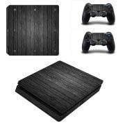 Wood V2 ps4 slim sticker