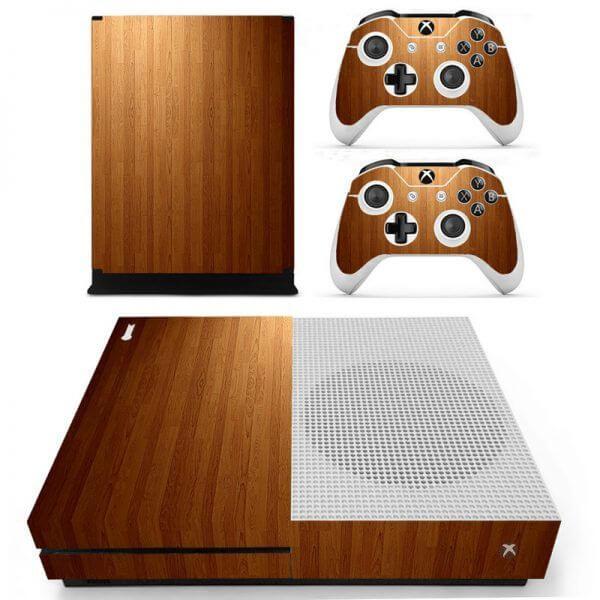 Wood V3 Xbox ONE S sticker