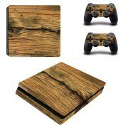 Wood V3 ps4 slim sticker