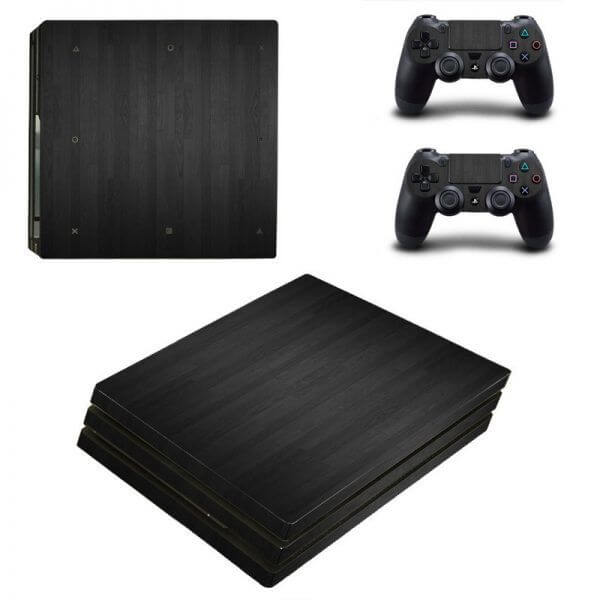 Wood V4 PS4 Pro sticker